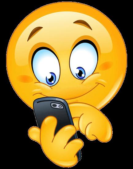 esame agente immobiliare - smiley smartphone